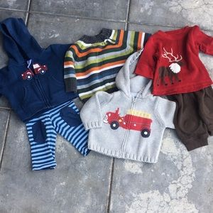 Newborn Clothing Bundle: Gymboree & Baby Gap
